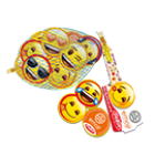 Emoji milk chocolate coins, 45 g