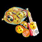 Emoji milk chocolate coins, 45 g