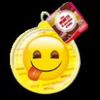 appendibili in PVC Emoji