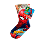 Spiderman Maxi-Stocking, 215 g.
