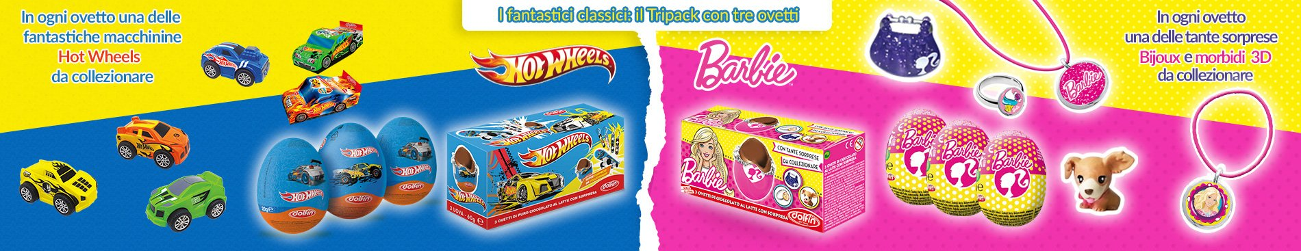 2019 Tripack HotWeels e Barbie
