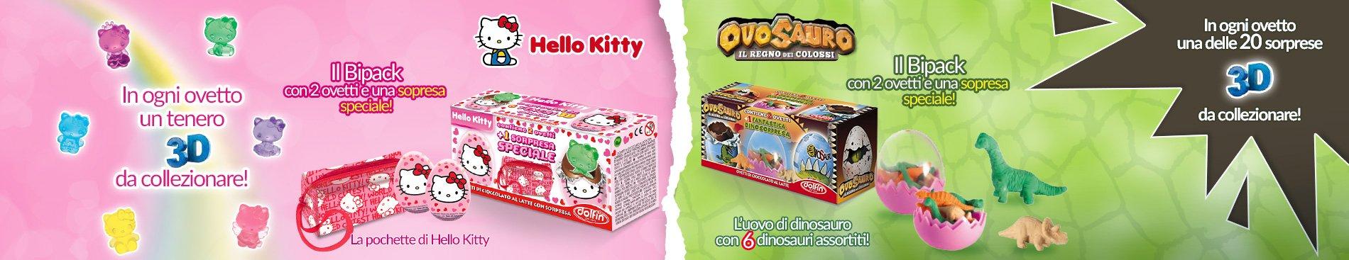 2016 BiPack Hello Kitty - Ovosauro