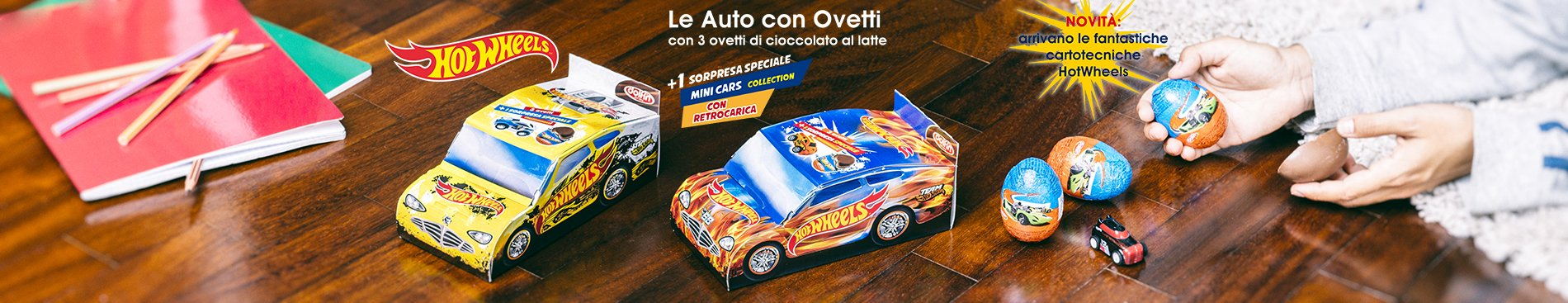 2019 Le auto con Ovetti Hot Wheels