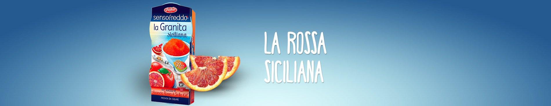 Senso Freddo la Granita - arancia rossa di Sicilia