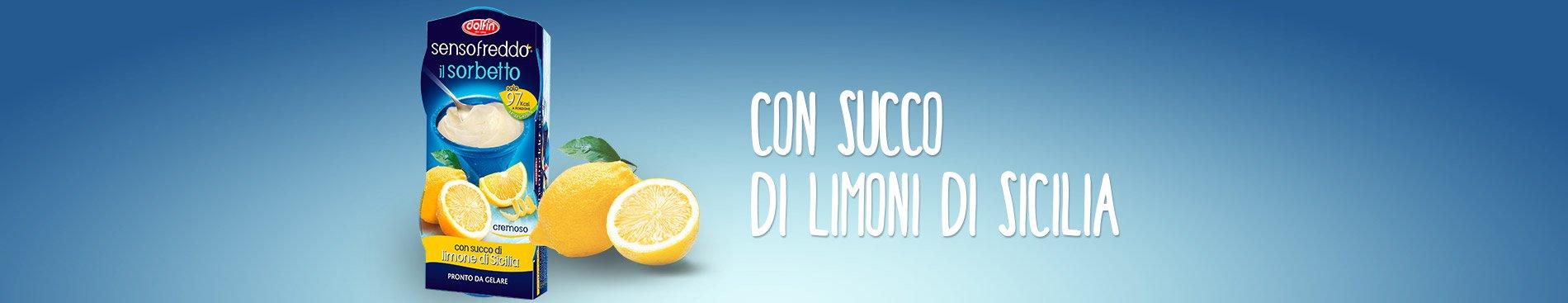 Senso Freddo il Sorbetto - limone