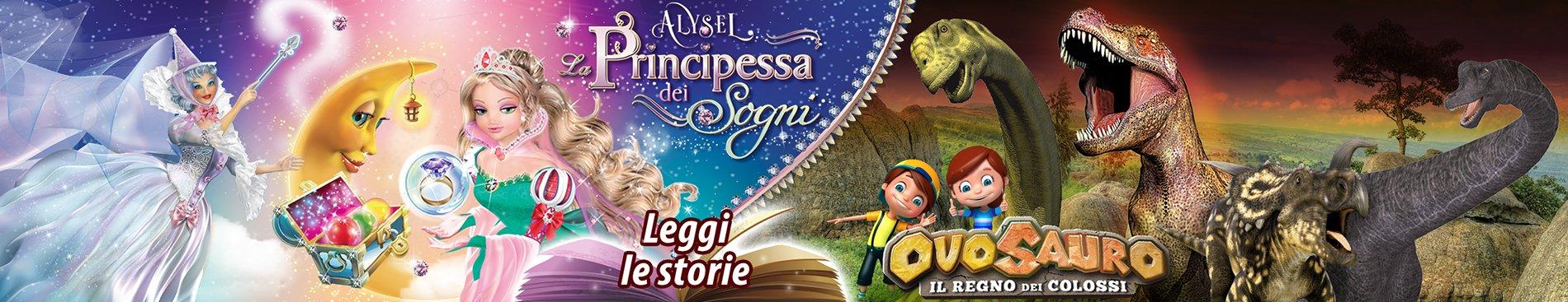 2016 Le storie di Alysel e Ovosauro