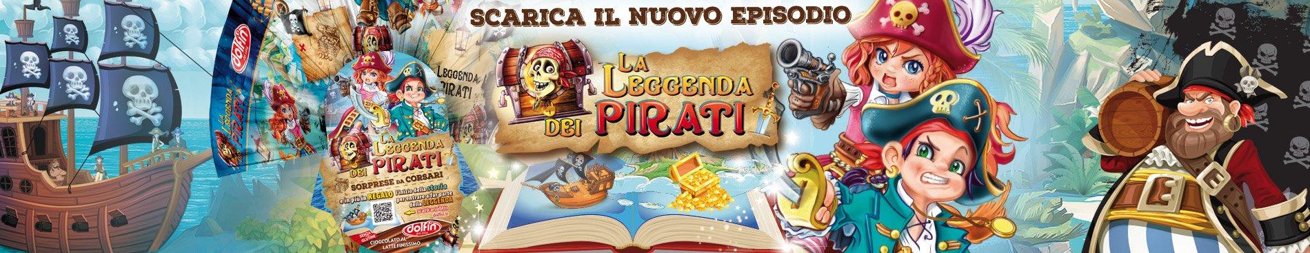 Scarica le storie di La Leggenda dei Pirati