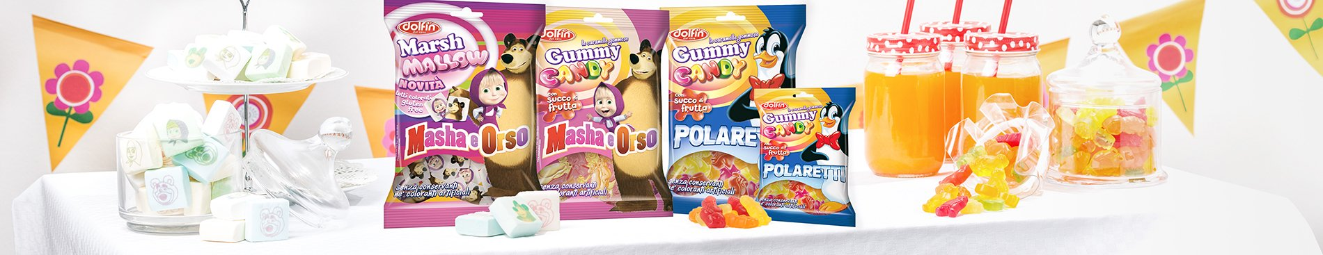 2015 Marshmallow e Gummy Candy