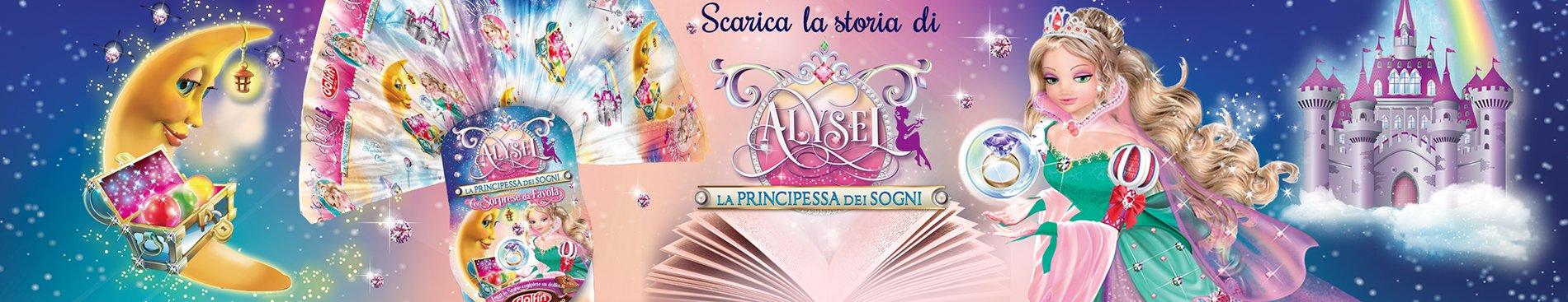 Scarica le storie di Alysel la Principessa dei Sogni