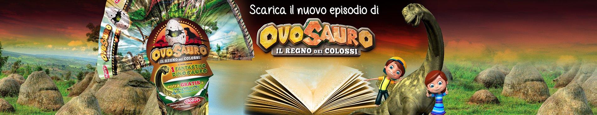 Scarica le storie di Ovosauro e il Regno dei Colossi