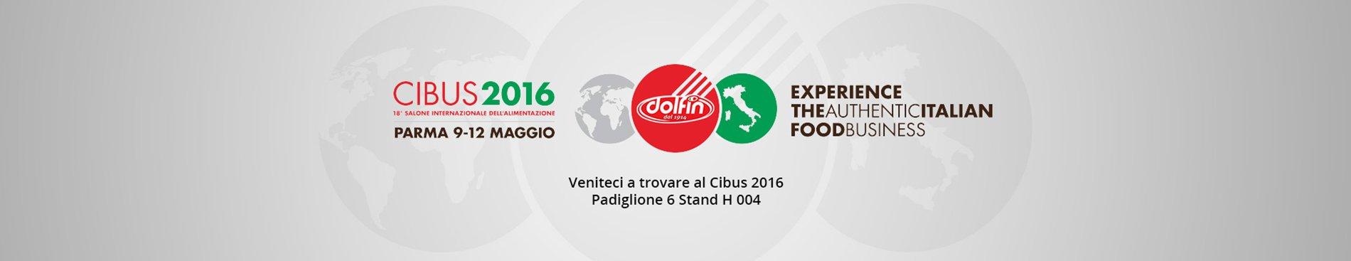Ci vediamo a Parma per Cibus 2016!