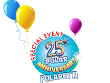 Festeggia con noi i 25 anni dei Polaretti