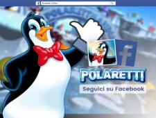 I Polaretti approdano su facebook e Instagram!!