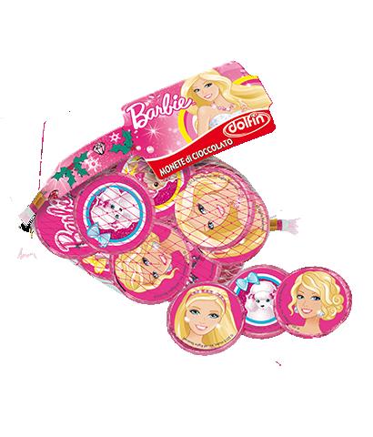 Barbie milk chocolate coins, 45 g