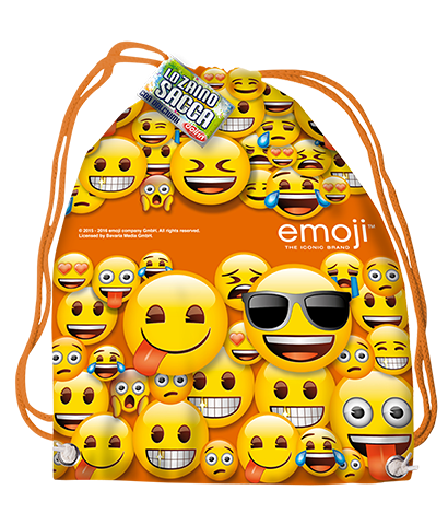 Licensed backpack - Emoji