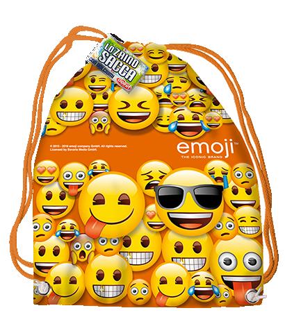 Licensed backpack - Emoji