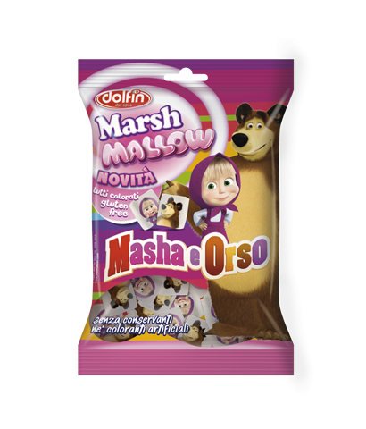 Marshmallow Masha e Orso