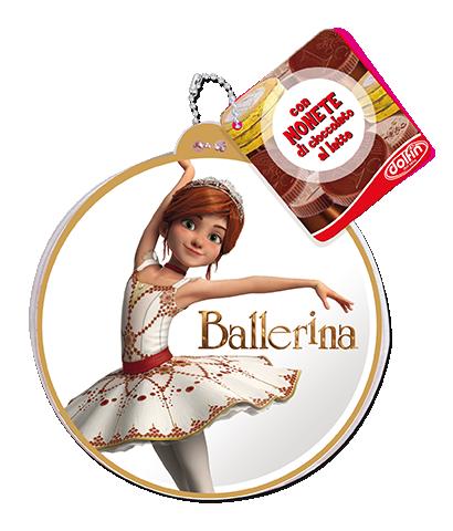 Zip pouch Ballerina