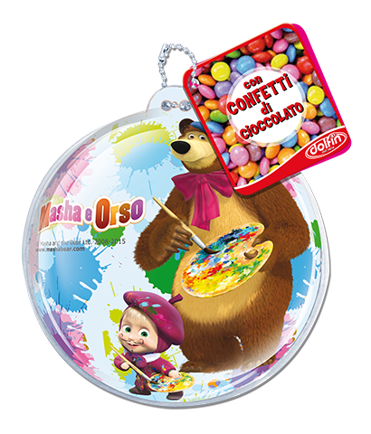 Zip pouch Masha and the Bear