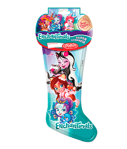 Calza Enchantimals, 160 g