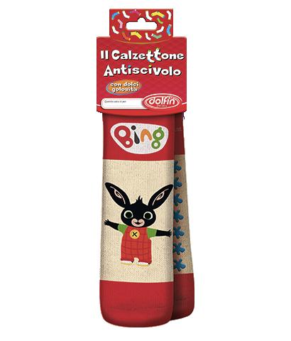 Calzettoni antiscivolo con dolciumi in licenze assortite