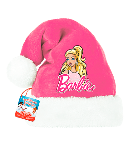 Barbie's Santa Claus hat