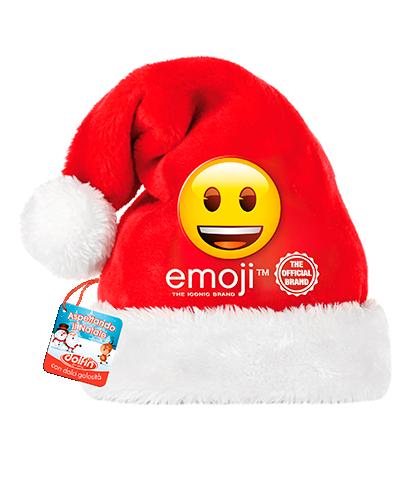 Emoji's Santa Claus hat