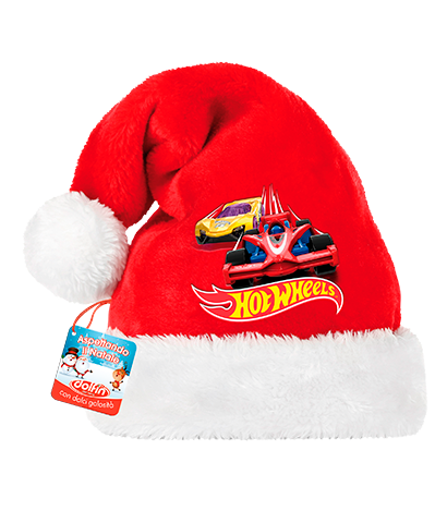 Hot Wheels Santa Claus hat
