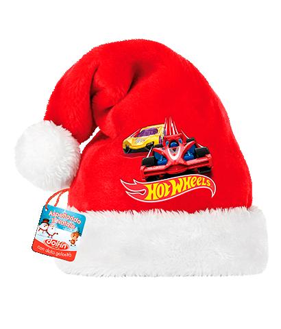 Cappello di Babbo Natale - Hot Wheels