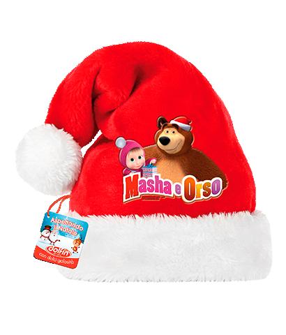 Cappello di Babbo Natale - Masha&Orso