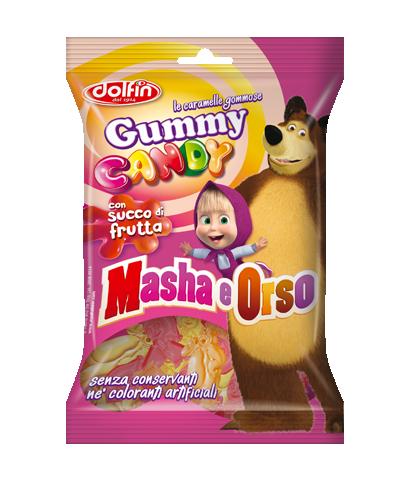 Gummy Candy Masha e Orso