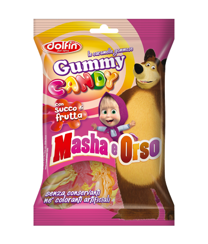 Gummy Candy Masha and the Bear