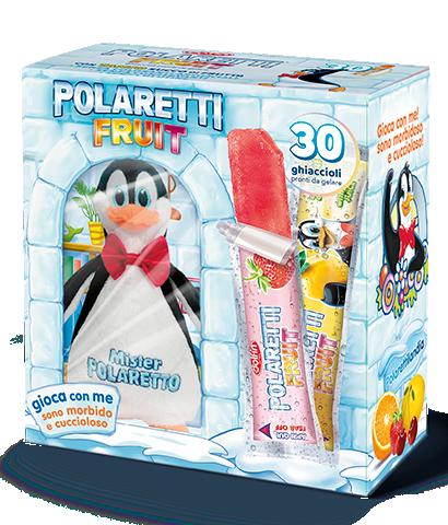 Polaretti Fruit con peluche