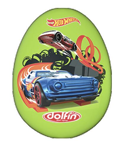 Maxi Uovo Hot Wheels 110 gr verde