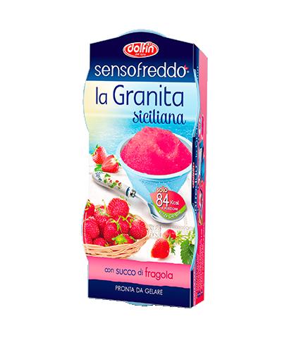 Senso Freddo la Granita siciliana - Fragola