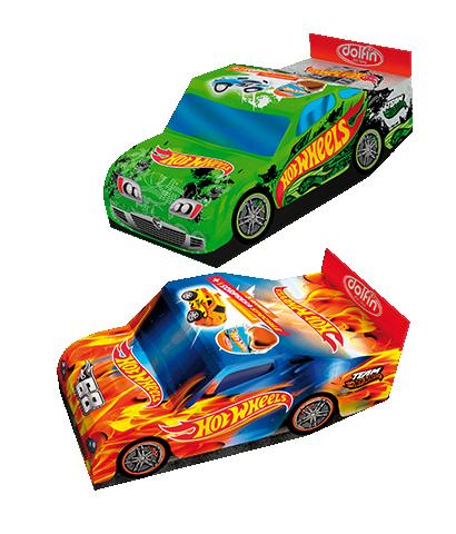Auto Hotwheels con 3 ovetti