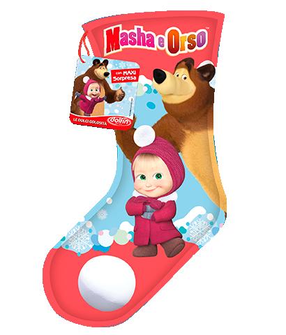 Masha and the Bear Maxi-Stocking, 220 g.