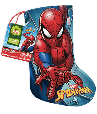 MiniCalza Spiderman da 50 g