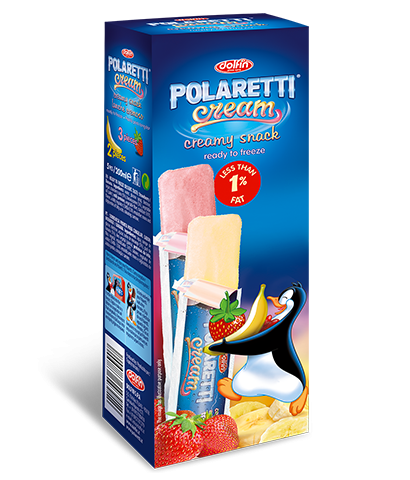 Polaretti Cream Strawberry/Banana EN/PT