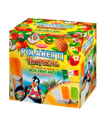Polaretti Tropical box 60 x40ml