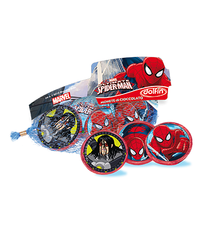 Retina monete 45 gr. Spiderman