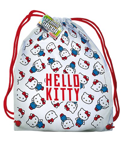 Sacca Zaino Free Time - Hello Kitty