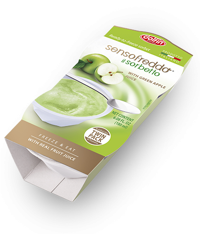 Senso Freddo Sorbet Green Apple