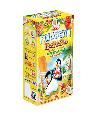 Polaretti Tropical box 10 x40ml