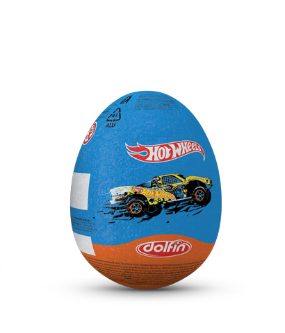 Hot Wheels mini egg of 20 g.