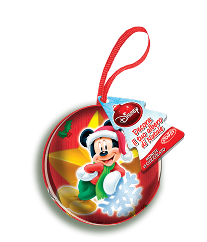 Mickey and Minnie metal spheres 30 g.