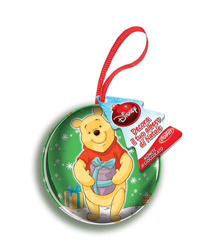 Sfere metalliche da 30 gr Winnie the Pooh